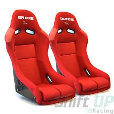 BRIDE VIOS III 3 Low Max RED GRADATION Pair Bucket Racing Seats JDM Momo