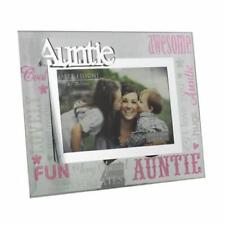 "Auntie Gift - Auntie glass picture photo frame 6""x4"" FG573AUN"