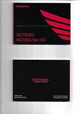 Manual del propietario HONDA NC700SD NC750S/SA/SD 2014  ENVIO GRATIS EN EL MUNDO