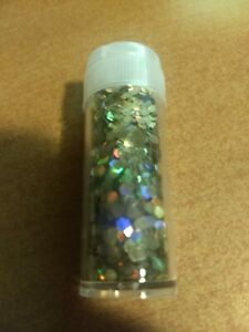 20 GSM.GLITTERS FOR SCRAPBOOKING NEW GOLD/SILVER   .(GLITTERS711).