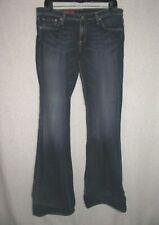 "True Religion Womens ""Becky"" Boot Cut 29 Petite Medium Wash Jeans EUC"