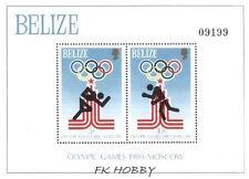 Belize 1979 Mi BL 10 ** Olimpiada Olympiade Olympics Sport Boxing