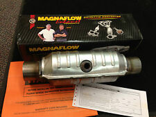 "Magnaflow 99355HM Catalytic Converter Round 2.25"" w/ O2 Port Get $100 Refund!"