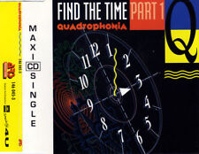 Quadrophonia Find the time Part 1 w/RARE REMIXS CD Single Jochem Paap SEALED
