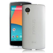 [NEXUS 5 TEXTURE] Google Nexus 5 TPU Case White [Ultra Fit]- Premium Matte Back