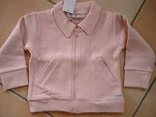 (118) Süße Imps & Elfs unisex Baby Sweatjacke mit Taschen & Logo Aufnäher gr.74