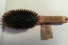 SPORNETTE ZHU # 2270 BOAR & NYLON BRISTLES CUSHION HAIR BRUSH