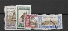 1930 USED Netherlands Indië  NVPH 167-170