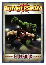 Rumbleslam RSG-BOOK-01 Rulebook Game of Fantasy Wrestling Main Rules TT Combat