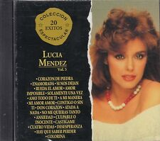 Lucia Mendez  Vol 5 20 De Coleccion CD New Sealed