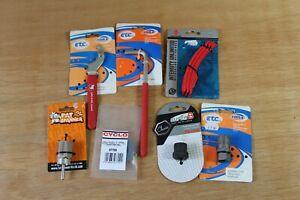 Workshop Tools x 7 - Super B Acor Fat Spanner