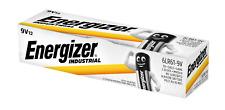 72 x Energizer Industrial 9V Block Alkaline E-Block 6LR22 Batterie - Rauchmelder