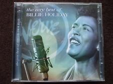 The Very Best Of Billie Holiday Double CD.Both Discs Are In Excellent Condition.