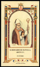 santino-holy card B.BERNARDO DE OLIVELLA DI TARRAGONA mercedario