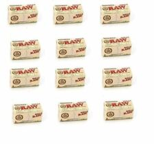 RAW Rolls Organic Unbleached Cigarette Rolling Papers Paper Box 12