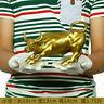 8inch ( Length ) Big Wall Street Bronze Fierce Bull OX Statue-Brass