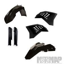 KIT PLASTICHE ACERBIS FULL KTM EXC F 500 520 525 540 2008 2009 2010 2011 nero