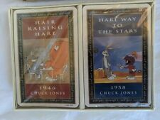 Vintage Warner Brothers Looney Tunes Playing Cards Double Deck 1993 Pre- Owned