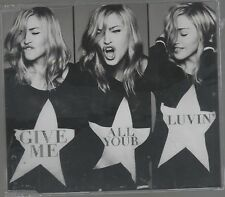 MADONNA GIVE ME ALL YOUR LUVIN CD SINGLE cds SIGILLATO!!!
