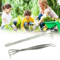 Mutifunction Stainless Steel Bonsai Gardening planting Rake Root Tools Spat