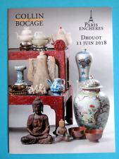 ARTS D'ASIE CHINE catalogue vente MING QING JIAKING DAOGUANG YONGZHENG KANGXI