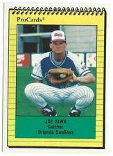 1991 ProCards Orlando SunRays Minor League Baseball card - PICK/Choose player
