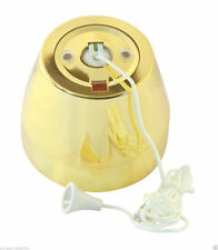 Crabtree & Evelyn Polished Brass 1-Gang Electrical Home