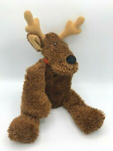 Hallmark Plush Comet Reindeer With Sparkles 14 Inches Tall W/ Jingle Bell