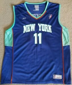 TERESA WEATHERSPOON WNBA OFFICIAL LICENSED NEW YORK LIBERTY REPLICA JERSEY XL