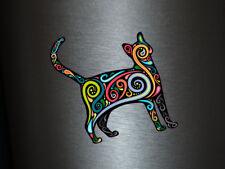 1 x adhesivo gato color arte decal sticker Fun gag Stati tuning Ka-Boom FBI