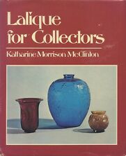 French Lalique Art Glass Jewelry Perfumes - History Development / Scarce Book