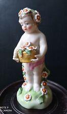 Chelsea-Derby Ancienne Figurine Porcelaine.XVIII.