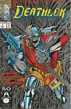 MARVEL DEATHLOK #1 #6 #7 W/ PUNISHER NO CGC NO CBCS 1991