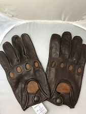First Classic Men's Brown Driving Gloves Size 2XL