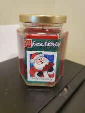 Home Interiors New ~ Merry Cranberry ~ Scented Jar Candle