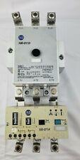 Allen-Bradley Contactor 100-D110 120 VAC  Coil With 193-EF1A