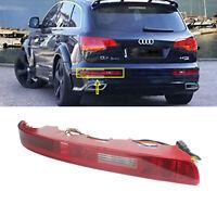 Pour Audi Q7 4L Feux arrière feux de brouillard feu stop Reflecteur Lampe Gauche