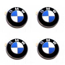 Original 4x BMW Radnabenabdeckung Logo Emblem / Aufkleber / Plakette Ø 45 mm