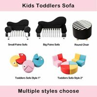 Kids Seating Preschool Sofa Sectional Colorful Stools for Toddler Soft Chair Set