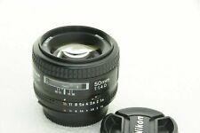 Nikon Nikkor 50mm AF f/1.4D - Perfect Condition - With Original Box