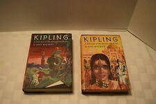 Vintage Set Of 2 Kipling Selection Of His Stories/Poems, Vol 1&2, 1956