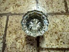 Vintage Glass Crystal Door Knob.