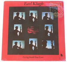 NIMBUS SUPERCUT  LP  EARL KLUGH  * SEALED *  Living Inside Your Love  Audiophile