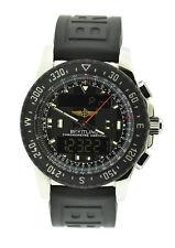 Breitling Airwolf Raven Stainless Steel Watch A78364
