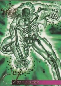 Trading card Flair Marvel Annual - Skullfire (101)