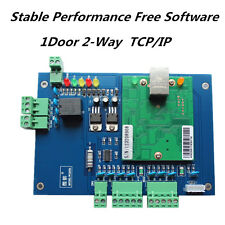 TCP/IP Wiegand one door two way access control board with free software