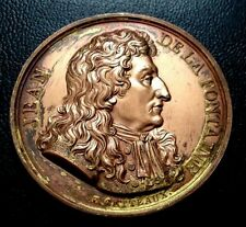 1816 France 42 MM / Jean De La Fontaine / Bronze Medal / M 91