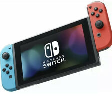(GAMESTOP REFURBISHED) Nintendo Switch Neon Blue and Red Joycons Console