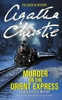 MURDER ON THE ORIENT EXPRESS by Agatha Christie a paperback book FREE SHIPPING