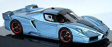 Ferrari FXX F140 Coupe 2005-06 blue blue metallic 1:43 Hot Wheels Elite